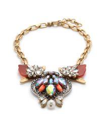 J.Crew - Multicolor Estate Jewel Necklace - Lyst