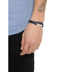 Miansai | Blue Modern Anchor Wrap Bracelet for Men | Lyst