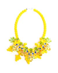 EK Thongprasert | Yellow Wrexham Buttercup Embellished Silicone Necklace | Lyst