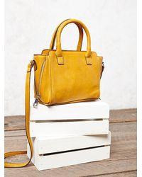 Free People | Yellow Womens Mini Mott Crossbody | Lyst