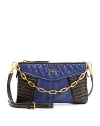 Miu Miu | Multicolor Quilted Leather Shoulder Bag | Lyst