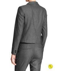 Banana Republic - Gray Factory Tuxedo Blazer - Lyst