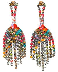 Tom Binns | Multicolor Riot Of Colour Earrings | Lyst