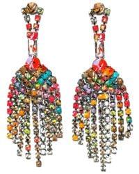 Tom Binns | Multicolor 'riot Of Colour' Earrings | Lyst