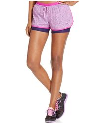 Nike | Purple Full Flex 2-in-1 Printed Compression Training Shorts | Lyst