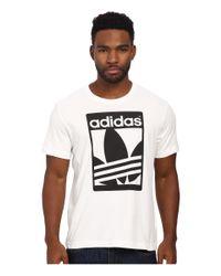 Adidas Originals - White Street Graphic Tee for Men - Lyst