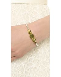 Marc By Marc Jacobs - Metallic Medium Bow Tie Hinge Bracelet - Oro Multi - Lyst