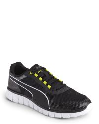 PUMA - Black & White Blur Sneakers for Men - Lyst