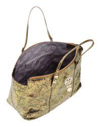 Blugirl Blumarine - Metallic Handbag - Lyst