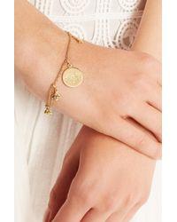 Carolina Bucci - Metallic Virtue 18-Karat Gold Diamond Charm Bracelet - Lyst