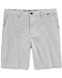 Hurley - Blue Dri-fit Beat Hybrid Shorts for Men - Lyst