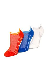 Hue | Multicolor Air Cushion Sport No Show Socks | Lyst