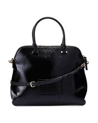 Kate Spade   Black Cedar Street Patent Margot Bag   Lyst