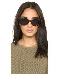 Sunday Somewhere | Gray Pearl Sunglasses - Black/light Grey | Lyst