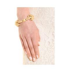 Valentino - Metallic Gryphon Bracelet - Lyst