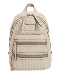 Marc By Marc Jacobs | Black 'domo Biker' Leather Backpack | Lyst