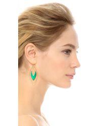 Alexis Bittar | Orbiting Basic Earrings - Leaf Green | Lyst