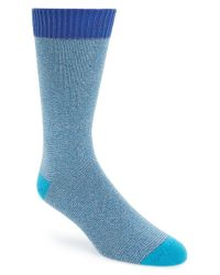 Ted Baker | Blue Multicolor Socks for Men | Lyst