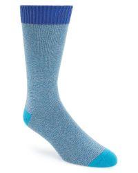 Ted Baker - Blue Multicolor Socks for Men - Lyst