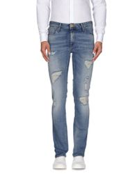 Originals By Jack & Jones - Blue Denim Trousers for Men - Lyst