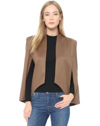 James Jeans | Natural Cape Sleeve Blazer | Lyst