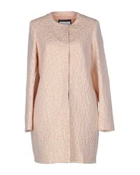 Caractere - Natural Full-length Jacket - Lyst