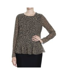 MICHAEL Michael Kors - Natural Top - Lyst