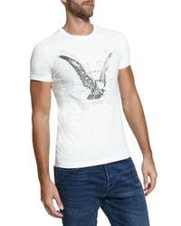 Ted Baker White Jabiru Eagle Graphic Crew Neck T-shirt for men