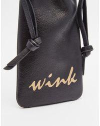 Urbancode - Black Wink Sunglasses Case - Lyst