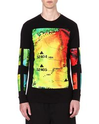 Hood By Air - Black Weather Long-sleeved Top - For Men for Men - Lyst