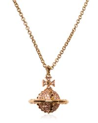 Vivienne Westwood | Metallic Mayfair Orbit Necklace for Men | Lyst