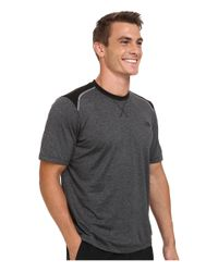 The North Face | Black Reactor Short Sleeve Crew Shirt for Men | Lyst