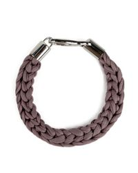 Wool And The Gang | Brown Sansa Choker | Lyst