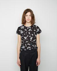 Proenza Schouler | Black Short Sleeve T-shirt | Lyst