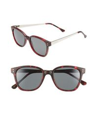 Komono | Metallic 'renee' 50mm Sunglasses for Men | Lyst
