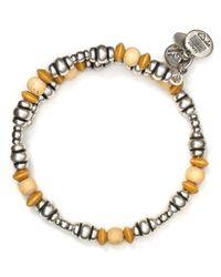 ALEX AND ANI - Natural Vintage 66 Dune Wrap Bracelet - Lyst