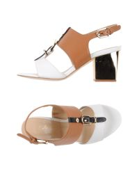 Lola Cruz | White Sandals | Lyst
