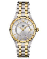 Tissot | Metallic Ladies T-Lady Quartz Watch With Two-Tone Bracelet | Lyst