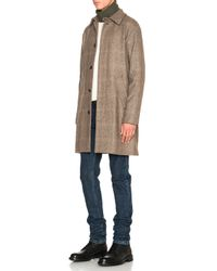 A.P.C. | Brown Macnee Jacket | Lyst