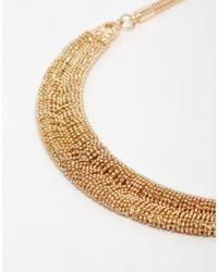 Coast   Metallic Crescent Choker Necklace   Lyst