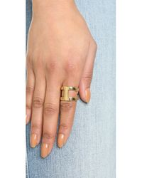 Michael Kors | Metallic Maritime Link Ring - Gold | Lyst