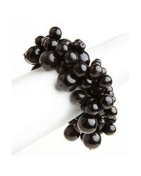 Natori | Black Horn Cluster Bracelet | Lyst