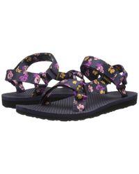 Teva | Purple Original Universal Floral | Lyst