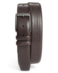Mezlan - Brown 'perseo' Belt for Men - Lyst
