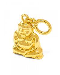 BaubleBar | Metallic Buddha Bracelet Charm | Lyst