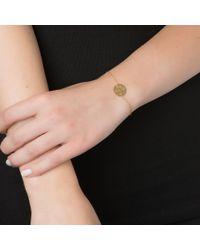 Sarah Chloe | Metallic Kiyla Monogram Bracelet | Lyst