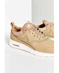 new style 9c78e a6f61 Women s Brown Air Max Thea Premium Sneaker