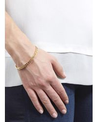 Marc By Marc Jacobs - Metallic Cut It Out Gold Tone Bracelet - Lyst