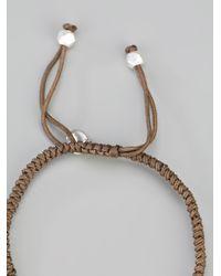 Chan Luu - Brown Beaded Bracelet - Lyst