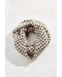 Urban Outfitters | Black Baroque Eyelash Eternity Scarf | Lyst